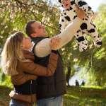 Настя, Саша и Ваня. 13-10-2013 парк Дружбы