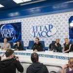 Пресс-конференция создателей фильма Иерей-Сан. 06-02-2014 пресс-центр ИТАР-ТАСС