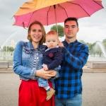 Настя, Мар, Даниэль. 25-08-2017 Парк Горького