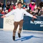 V Кубок Истринской долины по зимним видам спорта. 26-01-2014 Закладка первого камня Центра активного отдыха ZORINO