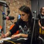 Louna в эфире НАШЕго Радио. 03-12-2013 Программа Вторая смена