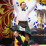 Соревнования по шотландским танцам в Москве. 21-07-2012 Екатерининский сад
